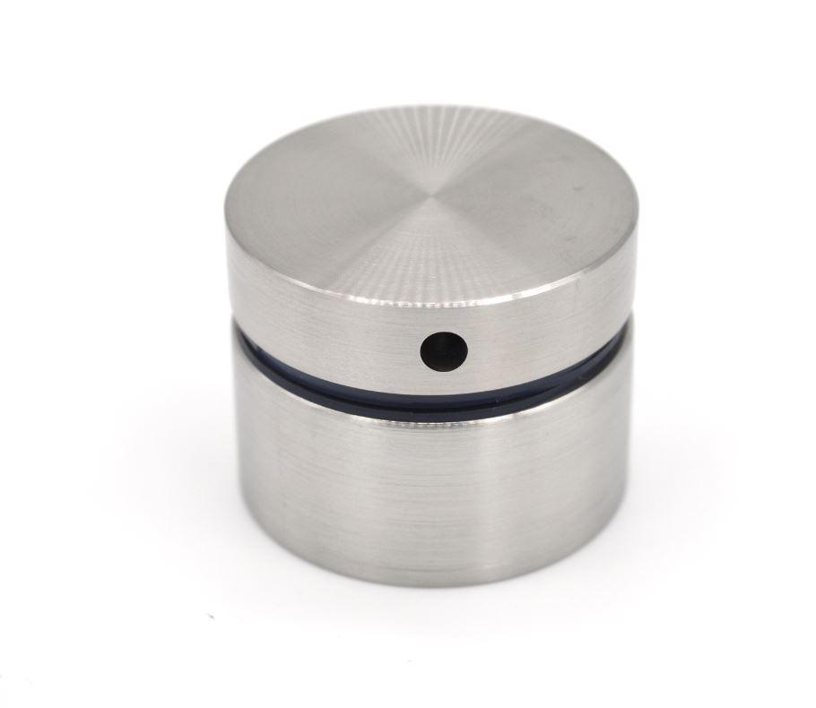 ODF-06-18-01-L20 Коннектор круглый d40 с дистанцией 20 мм с боковым отверстием М8