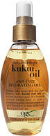 Ogx масло-спрей для увлажнения и гладкости волос с маслом гавайского ореха (кукуи), 118мл