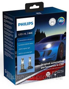 Автолампа светодиодная PHILIPS PS 11342XUWX2