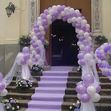 Арка  весільна на стійці