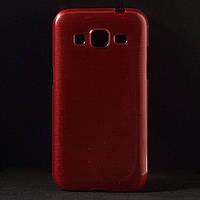 Чехол Samsung Galaxy Core Prime G361H, TPU Pearl Style Красный