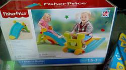 Fisher Price горка-качель