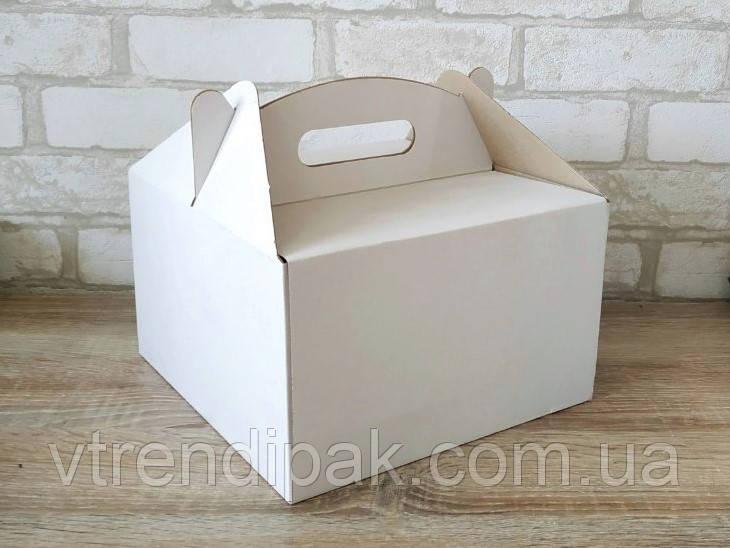 Коробка для торту 300*300*250