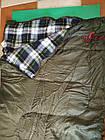 Спальний мішок Ember Tramp (правий). спальник ковдра. Туристический спальник, фото 6