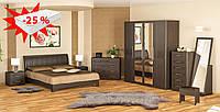 Спальня Токио/Токіо Мебель-сервис (скидка на матрас 25%)