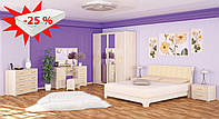 Спальня Токио/Токіо ясен светлый Мебель-сервис (скидка на матрас 25%)