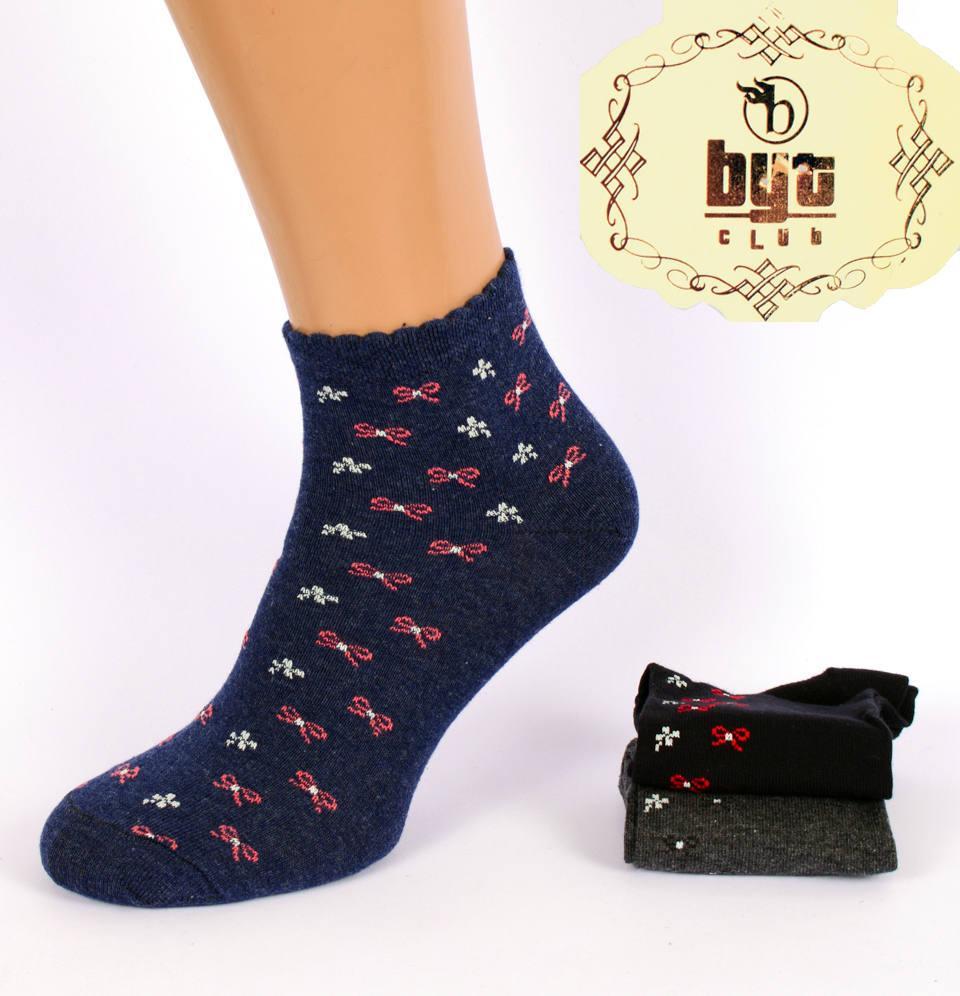 Женские ароматизированные короткие носочки Byt Club BL02. Размер 36-40. В упаковке 12 пар. Турция.