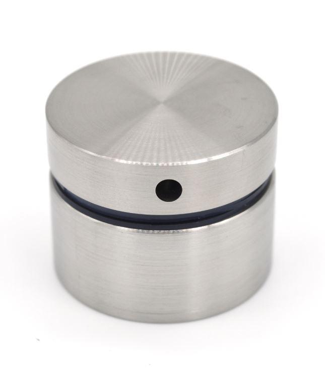 ODF-06-18-01-L25 Коннектор круглый d40 с дистанцией 25 мм с боковым отверстием М8