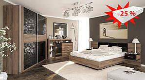 Спальня Фиеста/Фієста Мебель-сервис (скидка на матрас 25%)