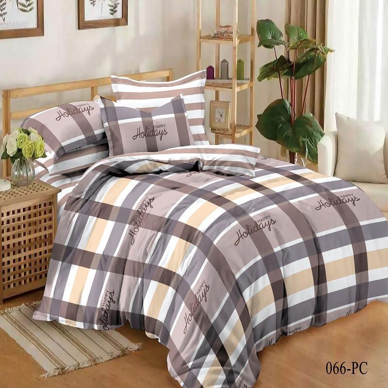 Комплект постельного белья  Happy Holidays, сатин, разные размеры двуспальный