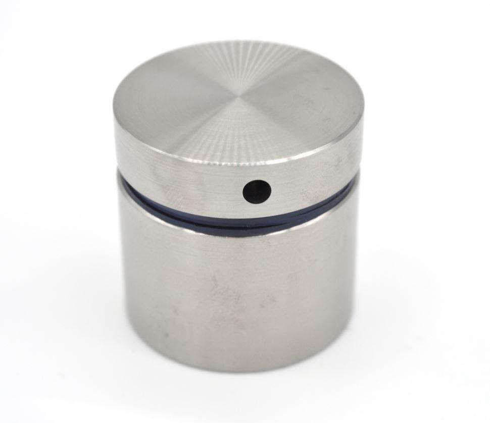 ODF-06-18-01-L30 Коннектор круглый d40 с дистанцией 30 мм с боковым отверстием М8