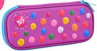 Пенал 1 Вересня YES 531961 3D школьный для девочки 1 отдел  без наполнения