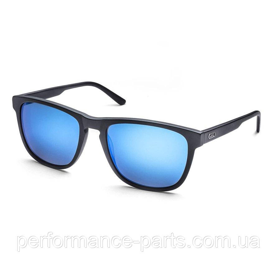 Сонцезахисні окуляри унісекс Audi Sunglasses, 3D-Logo, Unisex, Blue/Black Audi Оригінал 100%