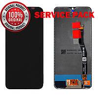 Дисплей + сенсор Samsung M205 Galaxy M20 (2019) чёрный Оригинал 100% SERVICE PACK GH82-18682A