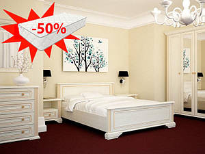 Спальня Вайт Gerbor (скидка на матрас 50%)