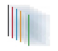 Папка А3 Economix з планкою-притиском (2-65 аркушів), асорті