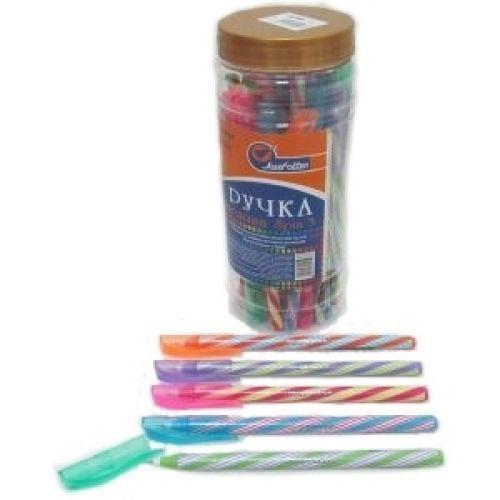 Ручка масляна Spin 3 Індія Blue 0,6мм у банці, mix