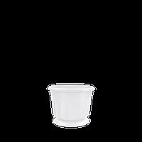 Горшок цветочный Рина 24 см белый  4,5 л, Украина