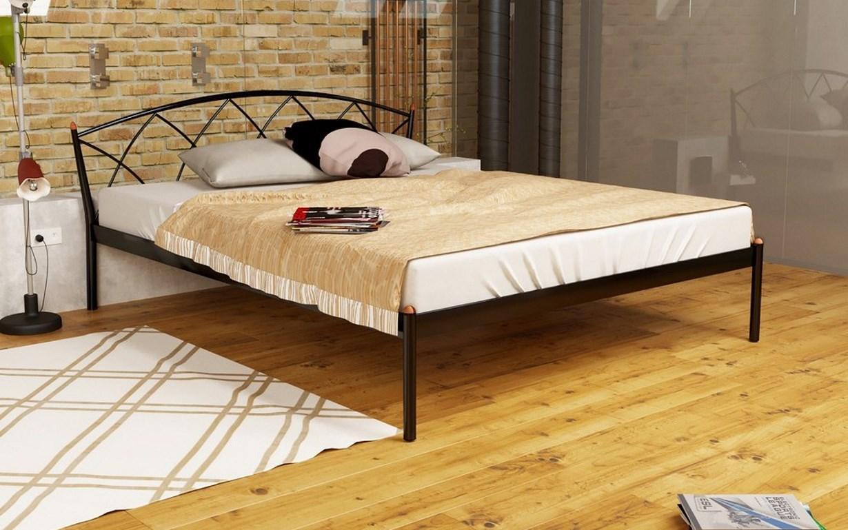 Металлическая кровать Жасмин 1 . Метакам