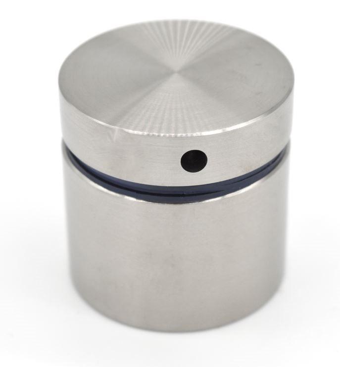 ODF-06-20-01-L50 Коннектор круглый d40 с дистанцией 50 мм с боковым отверстием М10