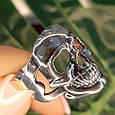 Кольцо череп Skull, фото 8