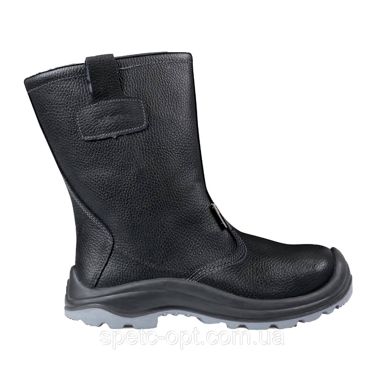 Сапоги кожаные утепленные EXENA S-3