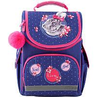 Рюкзак шкільний каркасний Kite Education 501-4 Fluffy bunny