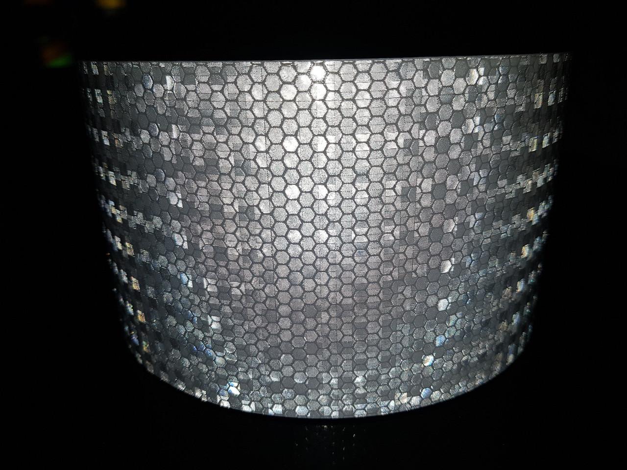 Светоотражающая самоклеющаяся БЕЛАЯ лента 10х100 см