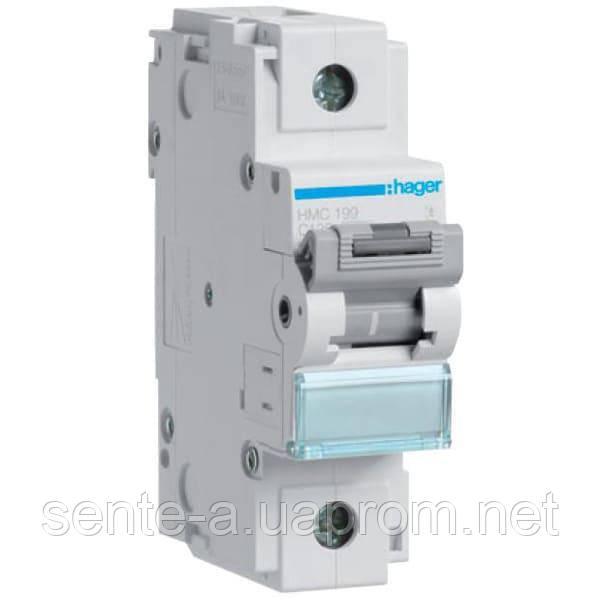 Автоматический выключатель 1 пол. 100А тип С 10КА HLF190S HAGER