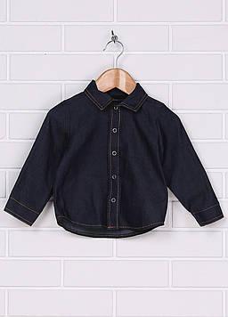 Рубашка Evga Kids 80 синий (GM-582_Blue)
