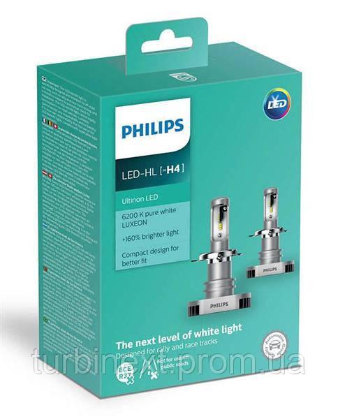 Автолампа светодиодная PHILIPS PS 11342 ULW X2