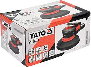 Шліфувальна пневматична YATO YT-09739, фото 2