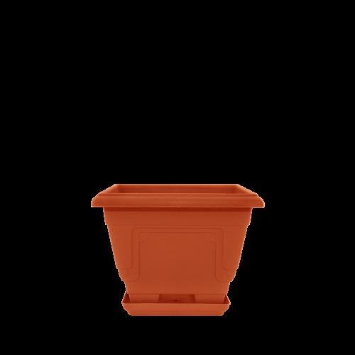 Горшок цветочный Петуния 40,6х21,8 см коричневый  8 л, Украина