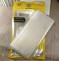 """Силиконовый чехол бампер """"Baseus"""" для Xiaomi redmi Note 5 / Note 5 Pro - прозрачный"""