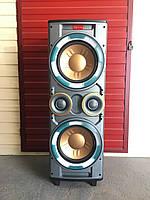 Активная колонка с RB-555 X-BASS (300/600W/USB/FM/Bluetooth)