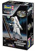 Сборная модель-копия Revell набор Астронавт на Луне. Миссия Аполлон 11. Уровень 4 масштаб 1:8 (RVL-03702), фото 1
