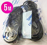 Удлинитель с карболитовой колодкой  5м (сечение провода 2*1,00мм² )16А 250В 2500Вт, фото 1