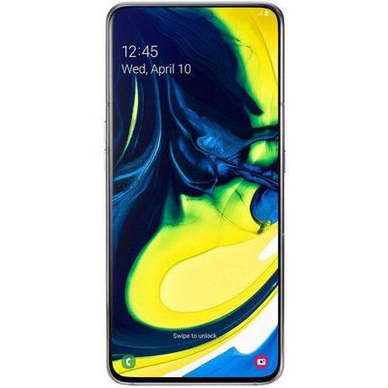 Смартфон Samsung Galaxy A80 2019 8/128GB Silver EU, фото 2