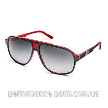 Солнцезащитные очки унисекс Audi Heritage Sunglasses, Black/Red, артикул 3111800600