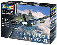 """Сборная модель-копия Revell Истребитель F-4G Фантом II """"Дикая ласка"""" уровень 5 масштаб 1:32 (RVL-04959), фото 1"""