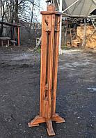 """Вешалка """"Стрела"""" (напольная из натурального дерева, для верхней одежды)"""