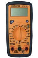 Цифровий мультиметр DT321B с подсветкой