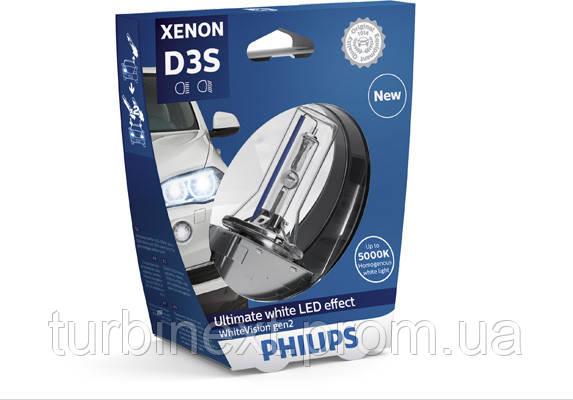 Автолампа ксенон PHILIPS PS 42403 WHV2 S1