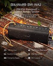 BlitzWolf BW-WA2 Беспроводная Bluetooth Колонка Waterproof Wireless Speaker