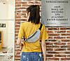 Яскрава голографічна поясна сумка бананка, фото 6