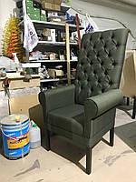 Кресло -Маршал-. Кресло мягкое для кафе, ресторана, кальянной на деревянном каркасе.