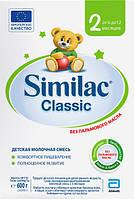 Similac Молочная смесь Classic 2 (6м+) картон 600г