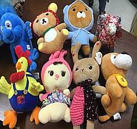 Игрушки мягкие детские в ассортименте