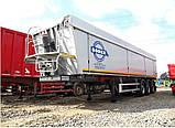 Накидка на полуприцеп зерновоз самосвал из ПВХ ткани - Германия 680 г/м2., грузовиков с открытым кузовом, фото 2