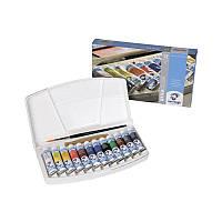 Набор акварельных красок, VAN GOGH, 12*10 мл+ кисточка, пластик, Royal Talens